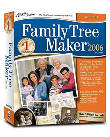 Family Tree Maker 2006 Standard