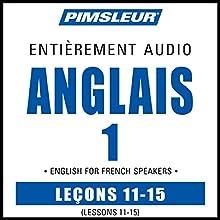 ESL French Phase 1, Unit 11-15: Learn to Speak and Understand English as a Second Language with Pimsleur Language Programs | Livre audio Auteur(s) :  Pimsleur Narrateur(s) :  Pimsleur