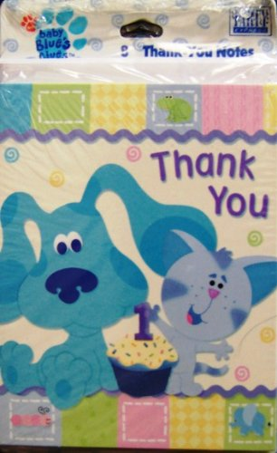 Blues Clues Thank You Notes (8 Count) - 1