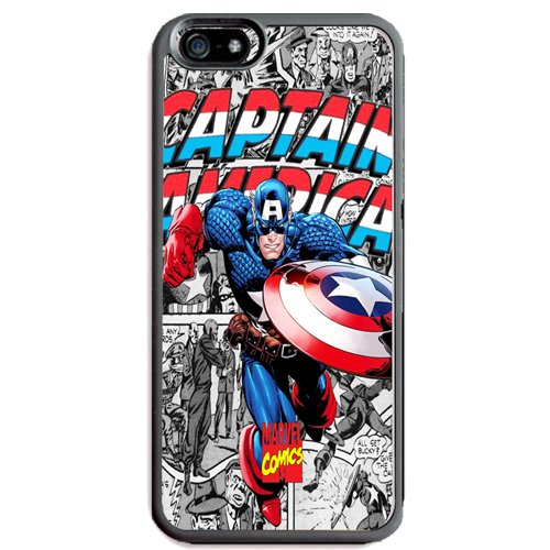 SPIDERMAN, CAPTAIN AMERICA, IRON MAN, THE HULK, THOR, AVENGERS TPU HARD CASE FOR APPLE IPHONE 6 / IPHONE 6S (Captain America) (Captain America Iphone compare prices)