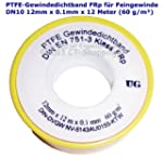PTFE-Gewindedichtband Rolle (Teflonba...