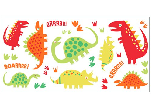 Fun4Walls Ws40255 Dino Red Wall Stickers front-402051