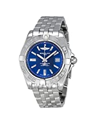 Buy Cheap Breitling Women's A71356L2/C811SS Galactic 30 Blue Dial Watch Special offer