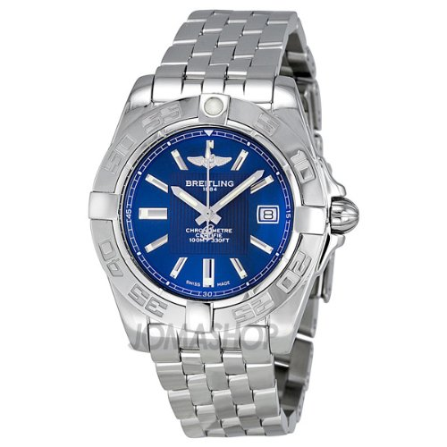 Breitling Women's A71356L2/C811SS Galactic 30 Blue Dial Watch