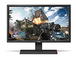 BenQ 27-Inch Gaming Monitor - LED 1080p HD Monitor - 1ms Response Time for Ultra Fast Console Gaming (RL2755HM) (Discontinued by Manufacturer)