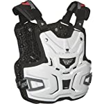 Fly Racing Adventure Adult Roost Deflector Off-Road/Dirt Bike Motorcycle Body Armor - White / One Size