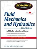 img - for Schaum's Outline of Fluid Mechanics and Hydraulics, 3ed (Schaum's Outline Series) 3rd (third) Edition by Giles, Ranald, Evett, Jack, Liu, Cheng [2009] book / textbook / text book