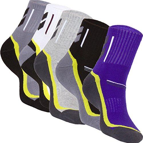 quarters-sportsockenfunktionssocken-run-socken-5-paar-by-foclassy-viele-farben