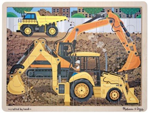 Melissa & Doug Construction Jigsaw (24-Piece)