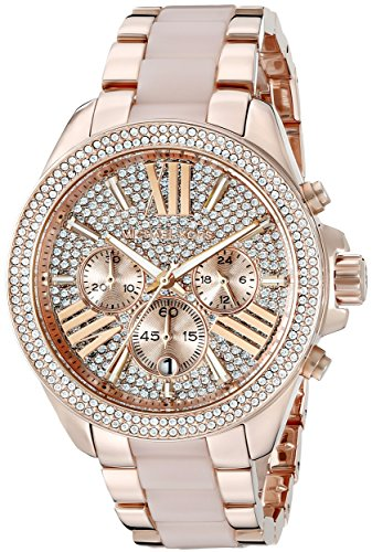 b130f50d6e0e (click photo to check price). Michael Kors Women s Wren Two-Tone Watch  MK6096 ...