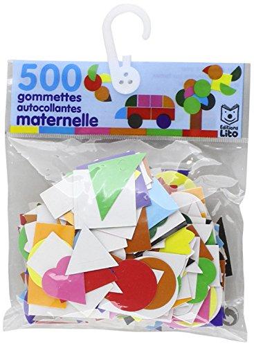 500 gommettes autocollantes maternelle - De 3 à 5 ans
