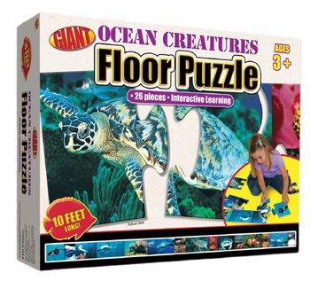Cheap Frank Schaffer OCEAN CREATURES PUZZLE AGES 3-6 (B001JTL9J2)
