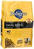 Pedigree Mini Crunchy Bites Dry Food for Small Dogs, 4.4-Pound Bags (Pack of 5)