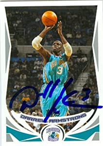 Darrell Armstrong Autographed Hand Signed Basketball Card (New Orleans Hornets) 2004...