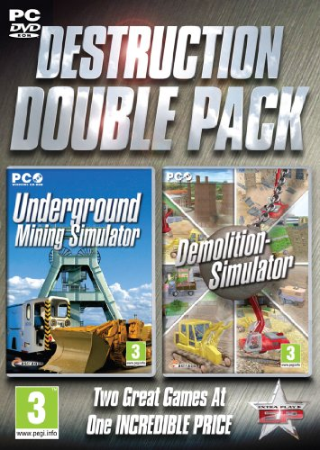 Destruction Double Pack - Underground Mining and Demolition Simulator  (PC)
