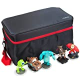 DELUXE CHARACTER FIGURE STORAGE BAG (disney infinity) Black / Red
