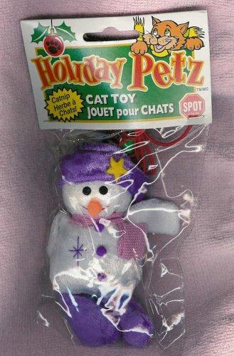 Holiday Petz Catnip Toy – Snowman