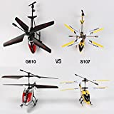 AMOSTING-RC-Helicopter-Crash-Resistant-35-Channels-with-Gyro-and-LED-Light-for-Indoor-Outdoor-Ready-to-Fly-Color-Black-Red-White