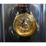 Disney Mickey Mouse Women's Watch - Gold & Black