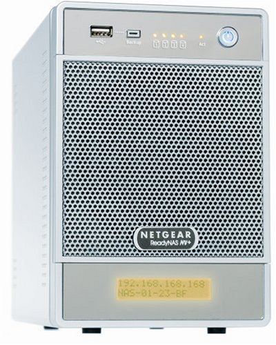 NETGEAR ReadyNAS NV+ 4Bay 0TB (Diskless)