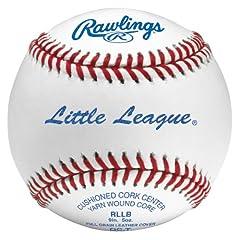 Rawlings Little League Baseballs (Pack of 12) by Rawlings