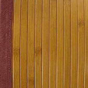 Tapis bambou 120 x 180 cm miel cuisine maison - Tapis bambou x ...