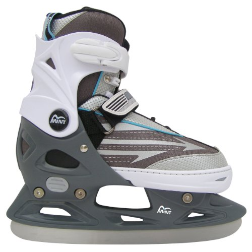 MINT Adjustable kids Semi-Soft Ice Skate ZOOM2, Size: M (37-40)