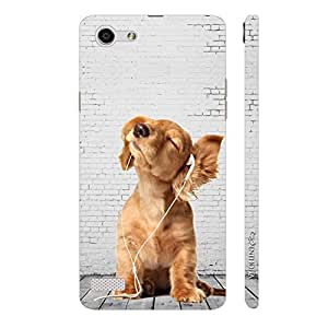 Enthopia Designer Hardshell Case Lost Puppy Back Cover for Oppo Neo 7