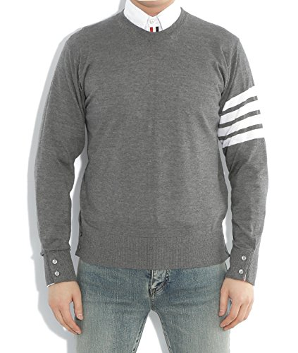 wiberlux-thom-browne-mens-stripe-accent-wool-pullover-1-gray