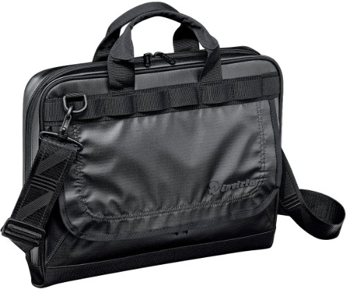 Borsa lavoro porta pc INVICTA office - MANAGERIAL BAG - NERA - tasca porta pc imbottita -