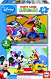 Educa 14205 Jigsaw Puzzles in Box 20 Pieces Mickey Mouse Club House Set of 2 Puzzles