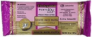 Tinkyada White Rice Spaghetti, 16 Ounce (Pack of 12)