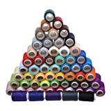Cosmos ® 60 Spools Assorted Color 200 Yards Each Unit Polyester Sewing Thread