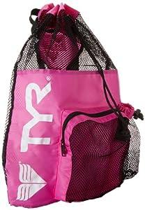 Amazon.com : TYR Big Mesh Mummy Gear Bag, Pink : Swimming