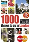 Time Out 1000 things to do in London...