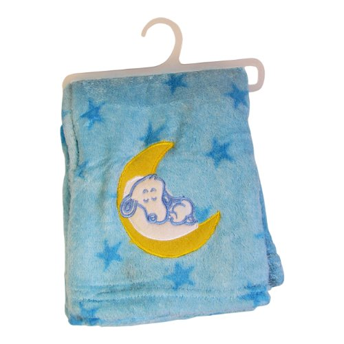 "Fluffy Soft Blankets for Baby Boys (40""x50"") (Blue)"