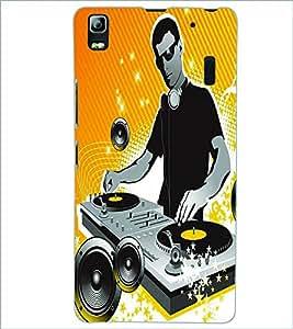 PRINTSWAG DJ BOY Designer Back Cover Case for LENNOVO A7000