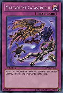 Yu-Gi-Oh! - Malevolent Catastrophe (LCYW-EN148) - Legendary Collection 3: Yugi's World - 1st Edition - Super Rare