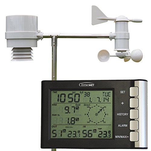 ClimeMET CM2026 Home All in One Weather Station