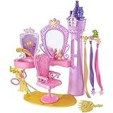 Mattel X9385 - Disney Princesse - Barbie - Set de salon de coiffure Coffret Raiponce