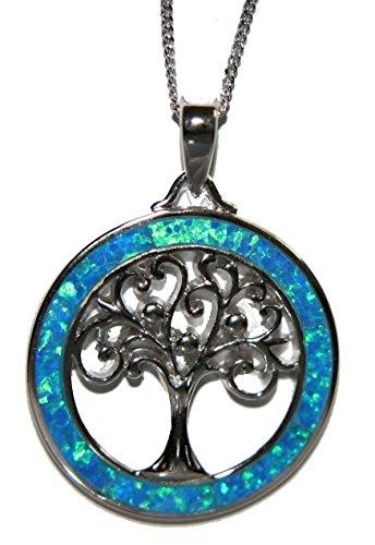 silver-design-halskette-mit-baum-des-lebens-sterlingsilber-opal-blau-457-cm