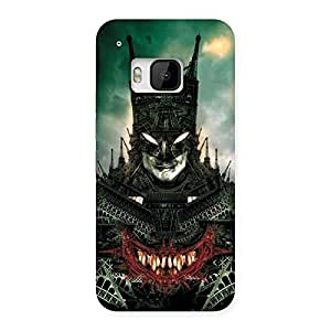 Cute Knight City Multicolor Back Case Cover for HTC One M9