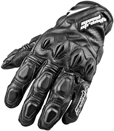 Speed & Strength Seven Sins Leather Gloves , Distinct Name: Black, Primary Color: Black, Size: 2XL, Gender: Mens/Unisex, Apparel Material: Leather 87-5939
