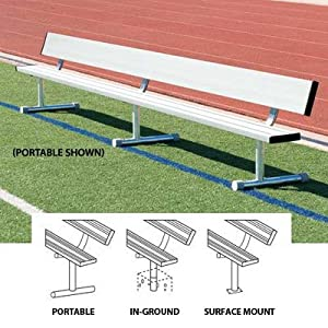 Buy (Price EA)SSG BSN 21' Portable Bench w Back - 21'L - Portable design by SSG