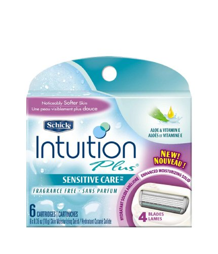 schick-intuition-plus-refill-cartridges-sensitive-care-6-count-by-schick