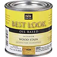 - W44N00804-12 Best Look Interior Wood Stain-PECAN INT WOOD STAIN