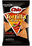 Chio Tortilla Chips Hot Chili, 3er Pack  (3 x 125 g)
