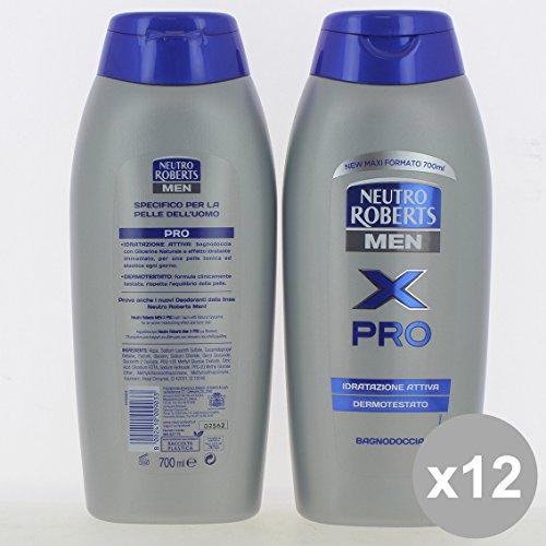 Set 12 NEUTRO Roberts Bagno 700 Men X Pro - Cura del Corpo
