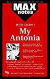 img - for My Antonia (MAXNotes Literature Guides) by Tim Wenzell (1996-04-18) book / textbook / text book