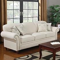 Big Sale Capetown Linen Blend Sofa